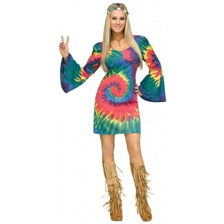 Female Hippie Costume image