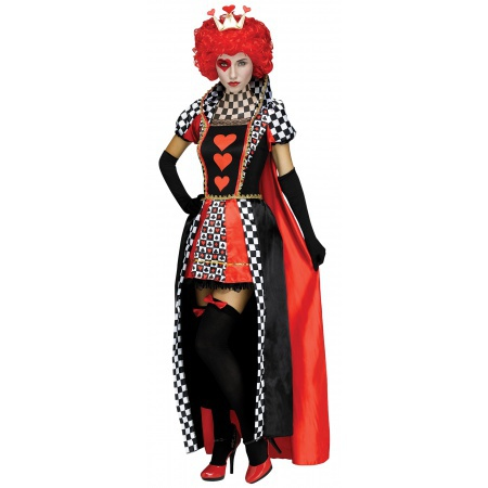 Queen Of Hearts Costume image