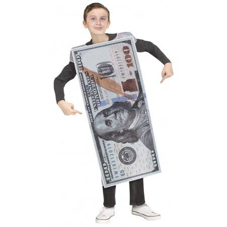 Kids Money Costume  image