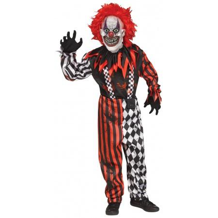 Killer Clown Costume image