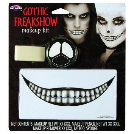 Creepy Smile Cheshire Cat Makeup image