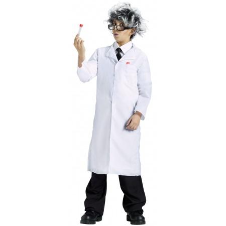 Kids Lab Coat Costume image