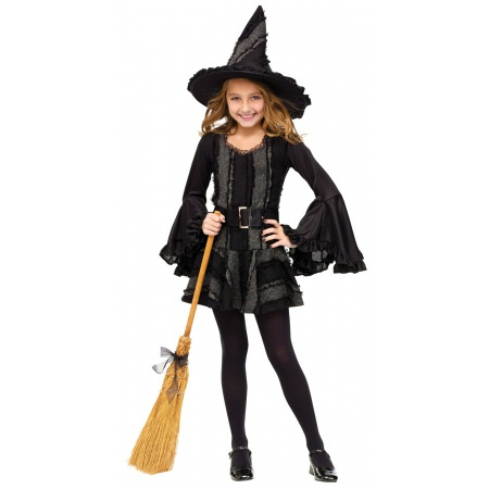 Girls Witch Costume image