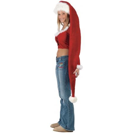 Extra Long Santa Hat image