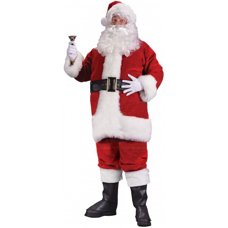 Adult Santa Claus Outfit image