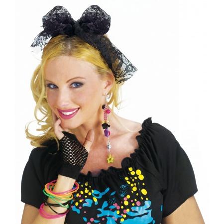Black Lace Hair Tie image