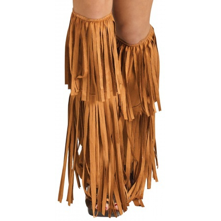 Hippie Fringe Boot Covers  image