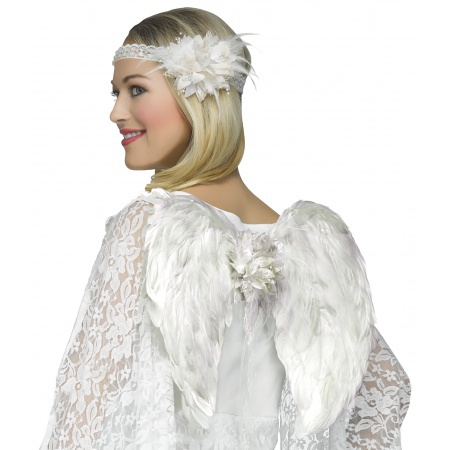 Angel Wings And Halo Costume Set image