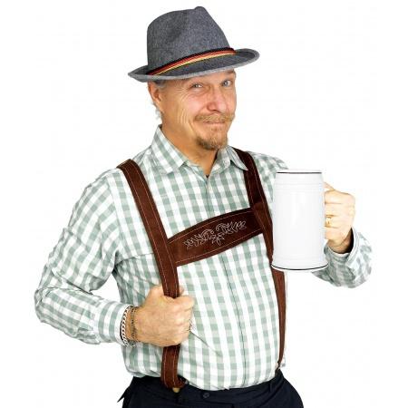 German Costume Hat And Suspenders image