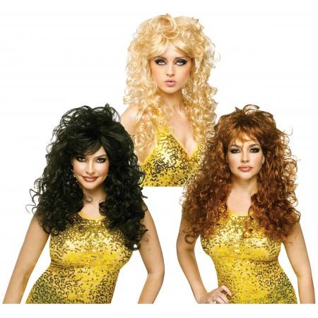 80s Diva Wig image