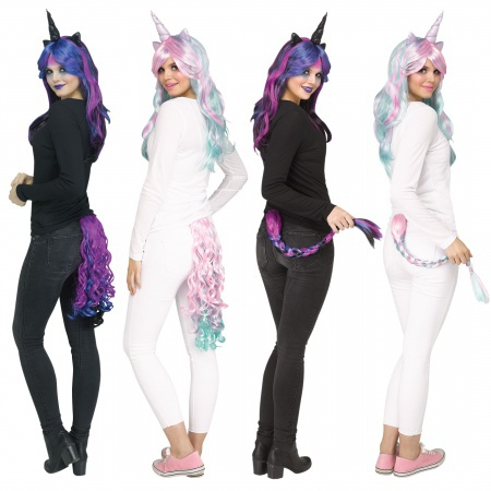 Unicorn Tail Costume Accessory image