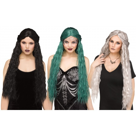 Adult Medieval Witch Wig image