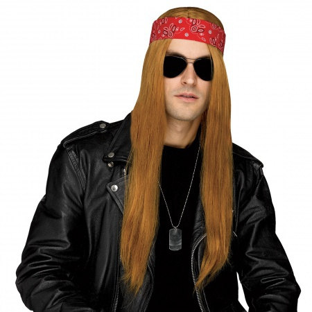 80s Rocker Costume Wig image