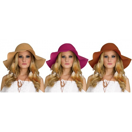 Hippie Floppy Hat image