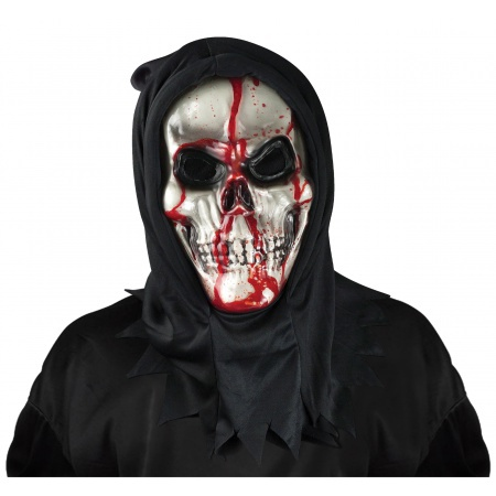 Bleeding Skull Mask image
