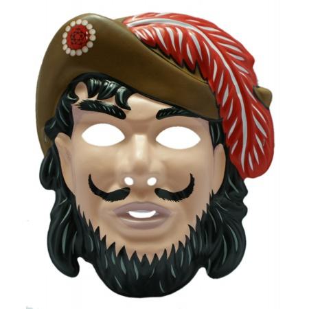 Kids Captain Hook Costume Mask image