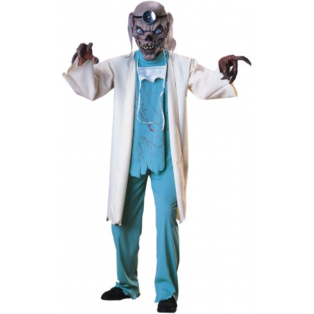 Scary Doctor Crypt Keeper Costume image