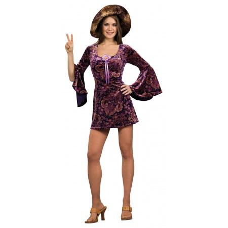 60s Hippie Girl Costume image