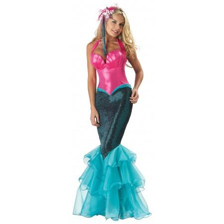 Womens Mermaid Costume image