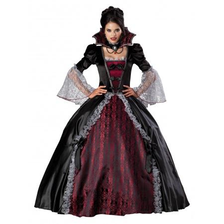 Victorian Vampiress Costume image