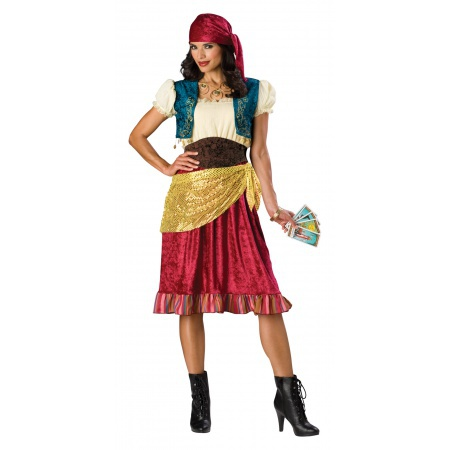 Gypsy Costume Fortune Teller image