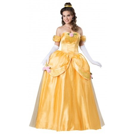 Belle Costume Adult image
