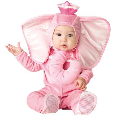 Pink Elephant Costume image