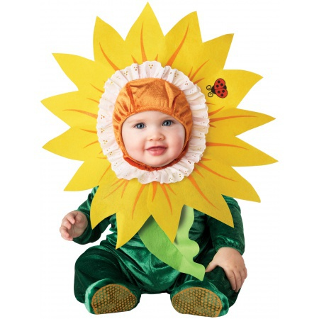 Baby Sunflower Costume image