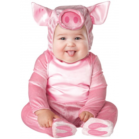 Pig Costume For Baby image
