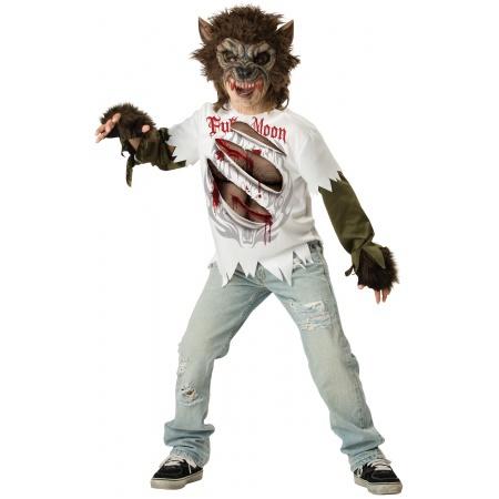 Kids Werewolf Costume image