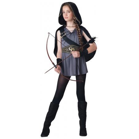 Katniss Everdeen Costume For Kids image