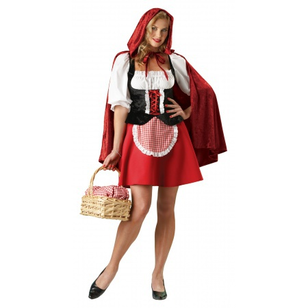 Little Red Riding Hood Adult Costume image