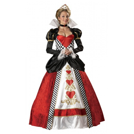 Deluxe Queen Of Hearts Costume image