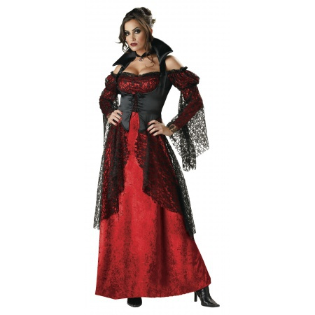 Victorian Vampire Costume For Women image