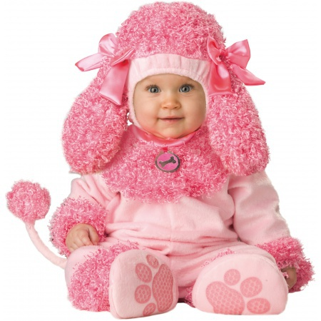 Precious Poodle Costume Puppy Dog Deluxe image