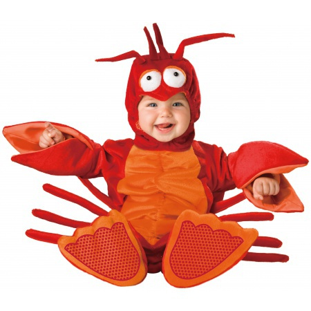 Lil Lobster Costume High Quality Deluxe image