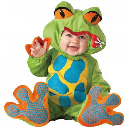 Lil Froggy Costume High Quality Deluxe Frog image