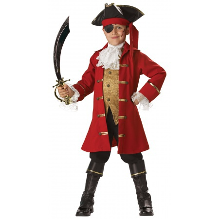 Kids Pirate Costume image