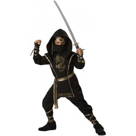 Ninja Warrior Costume image