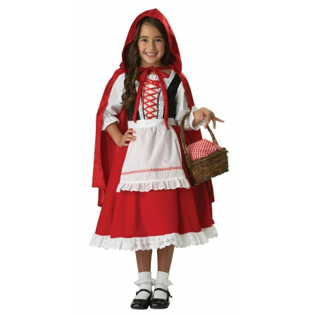 Kids Little Red Riding Hood Costume image