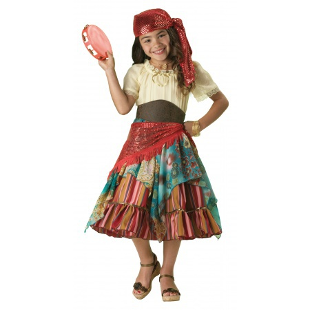 Kids Fortune Teller Costume image