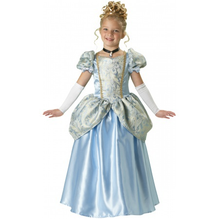 Cinderella Costume For Girls image
