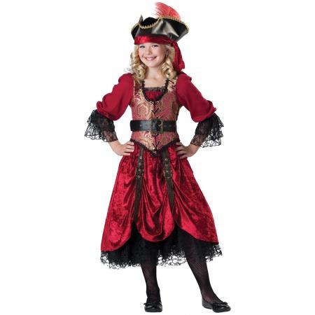 Girls Pirate Costume image