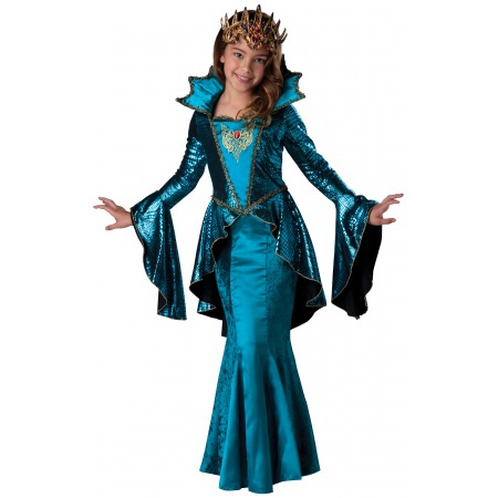 Medieval Queen Costume image