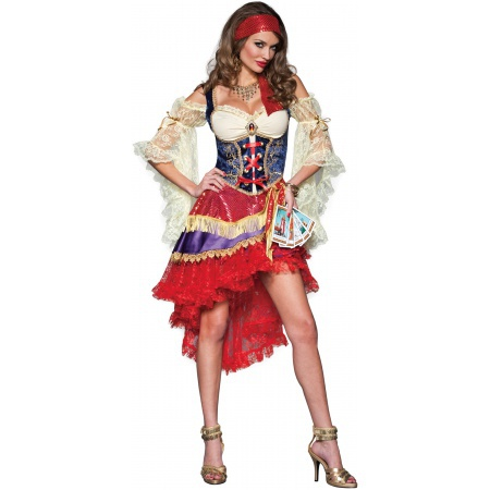 Gypsy Costume For Women image
