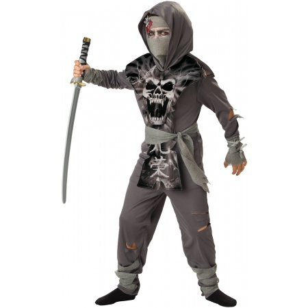 Boys Zombie Ninja Costume image