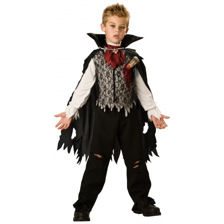 Kids Count Dracula Costume image