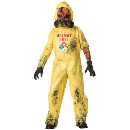 Hazmat Zombie Costume image