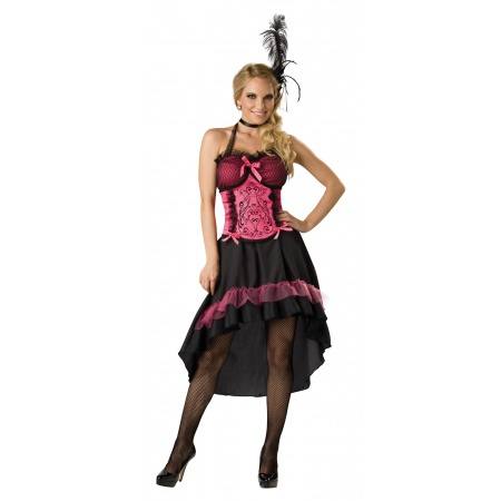 Wild West Saloon Girl Costume image