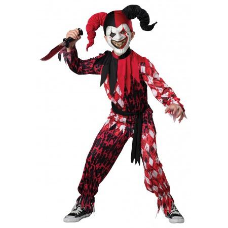 Boys Jester Costume image
